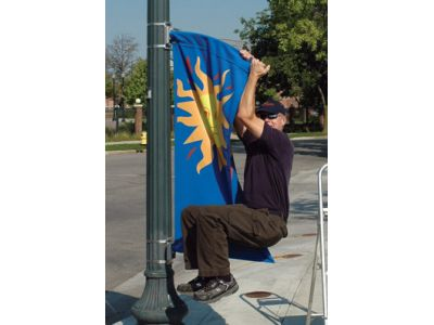 Streetlight Banners