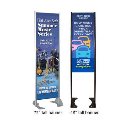 Messenger GMS Banner Stand