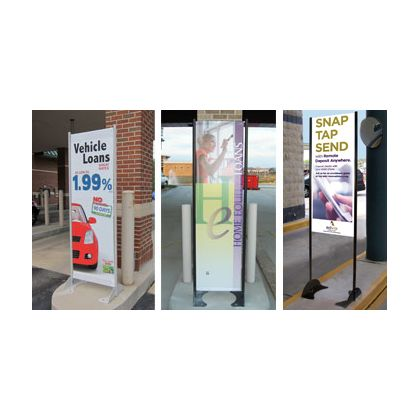Retail Banner Stand